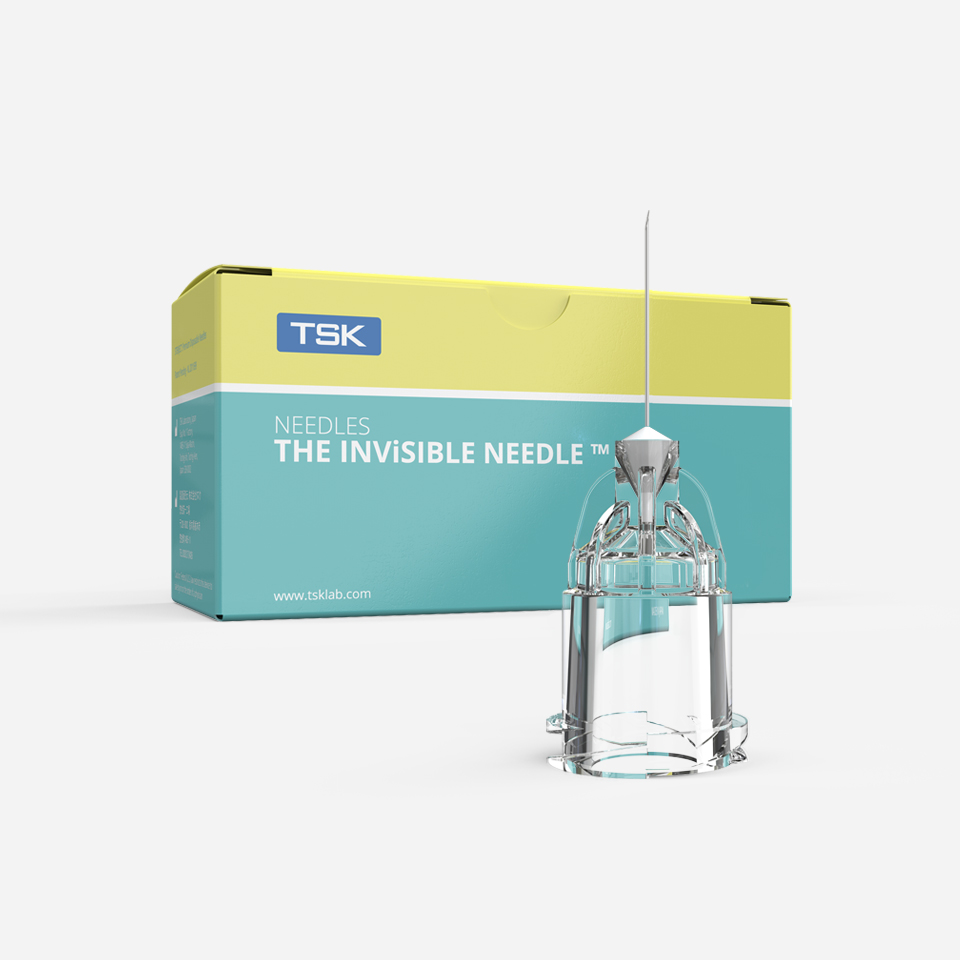 Botulinum toxin needles - THE INViSIBLE NEEDLE by TSK